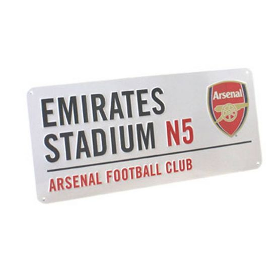 Arsenal Emirates Street Sign