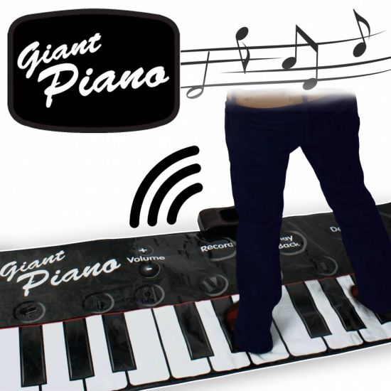 Gigantic Piano Keyboard Mat