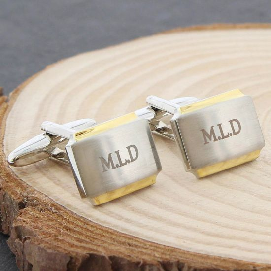 Gold Plated Cufflinks 1