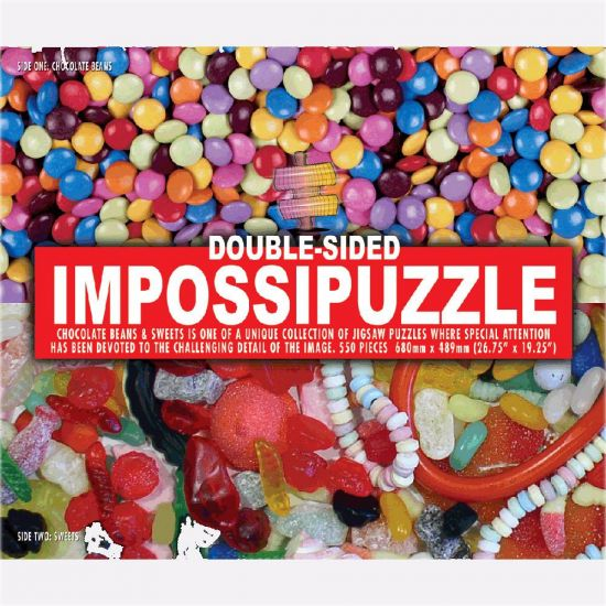 Impossipuzzle Sweets Jigsaw Puzzle