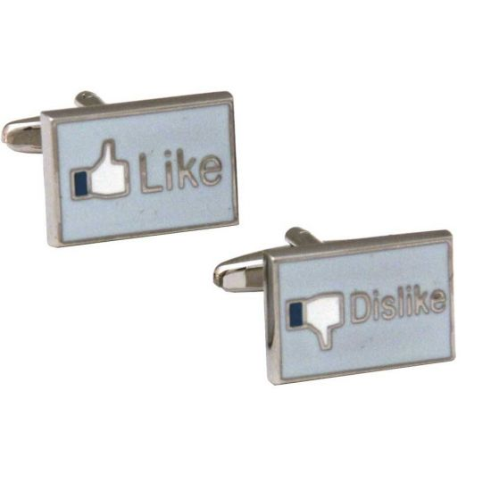Like Dislike Cufflinks