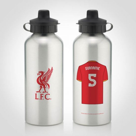 Personalised Liverpool Water Bottle