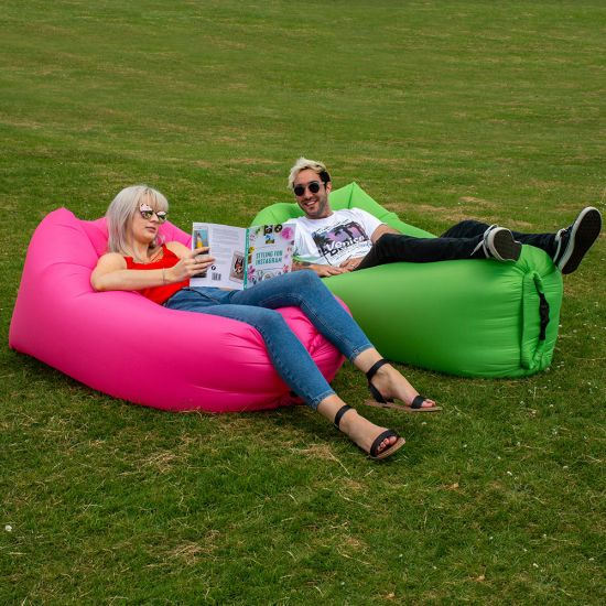 Lounger To Go 2.0 - Easy-Fill Air Bed  - Lifestyle
