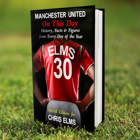 Manchester United on this Day Book 1