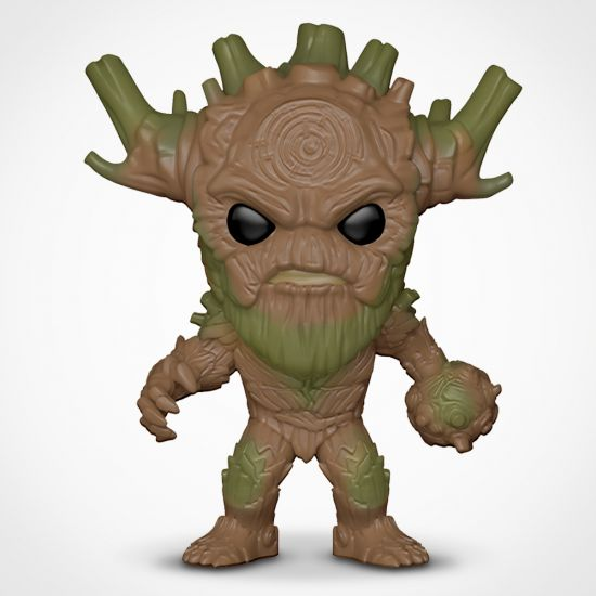 Marvel Contest of Champions King Groot Pop! Vinyl on a grey background