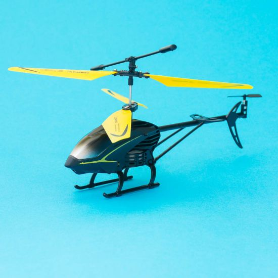 RED5 Mini Helicopter Black & Yellow
