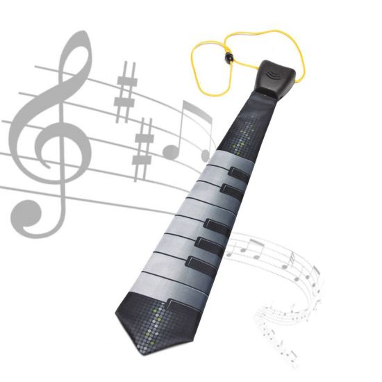 Musical Piano Tie