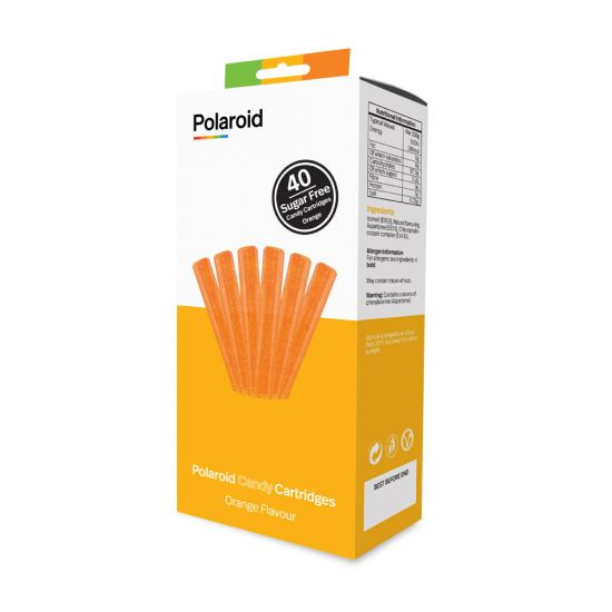 Orange Polaroid Candy Cartridges for Candy Play 3D Pen