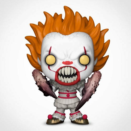 IT Pennywise with Spider Legs Pop! Vinyl on a grey background