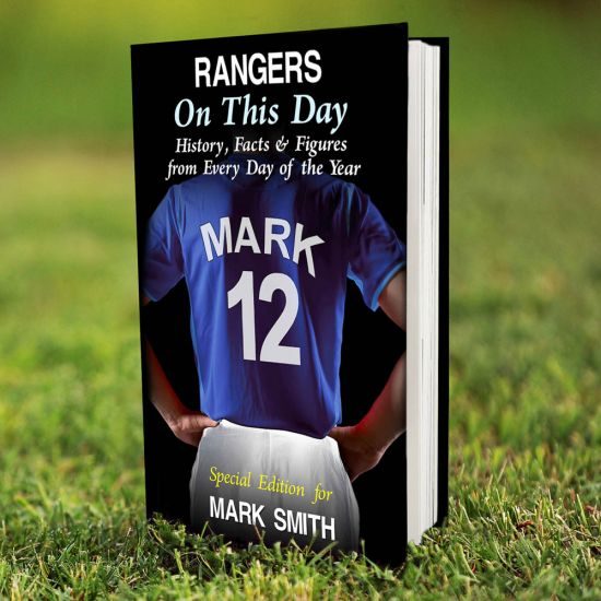Rangers on this Day Book 1