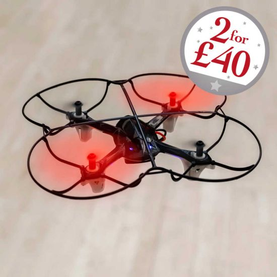 red motion drone