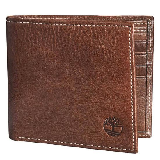 Bifold Mens Wallet Brown
