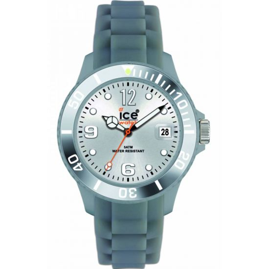 Silver Silicon Unisex Watch SI.SR.B.S.09