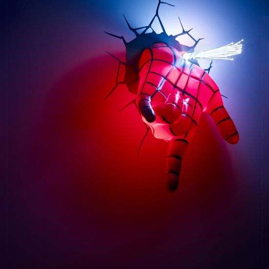Marvel Spider-Man Hand 3D Deco Light - Lifestyle