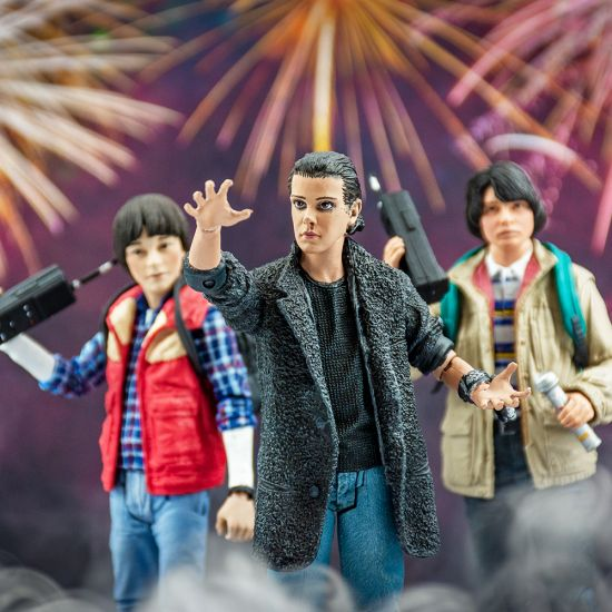 """Stranger Things 7"""" Punk Eleven Action Figure  - Lifestyle"""