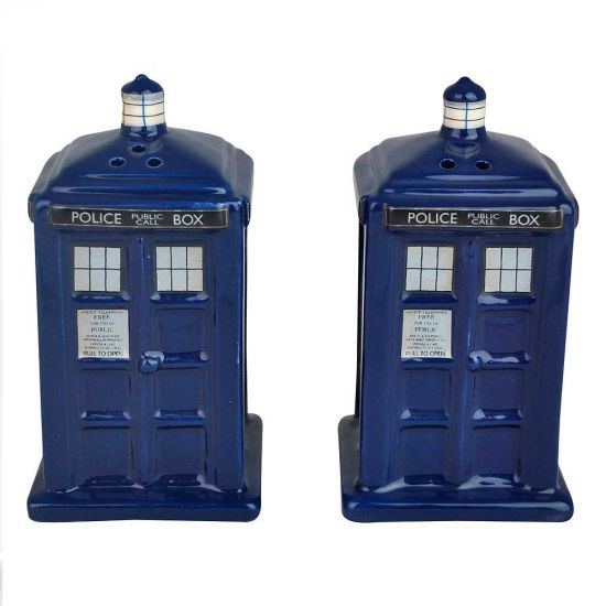 Tardis Salt & Pepper Shakers