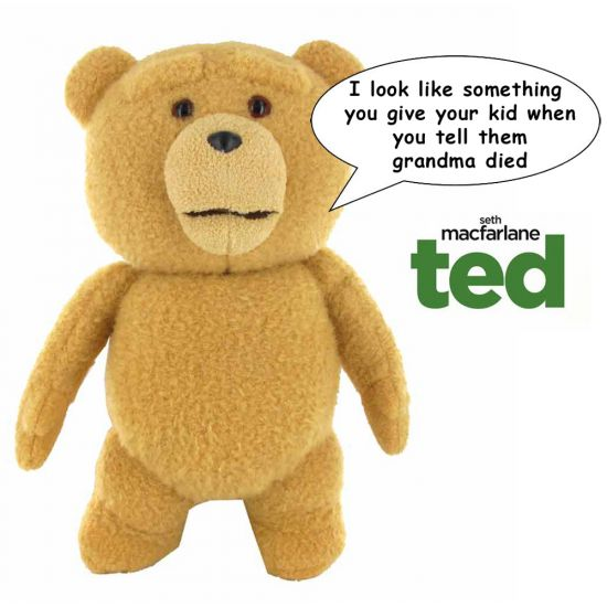 "Ted 16"" Talking Plush Toy"