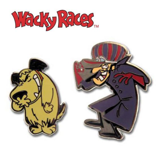 Wacky Races Cufflinks
