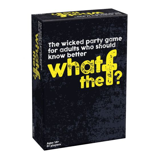 What the f? – The Party Game for Adults Who Should Know Better