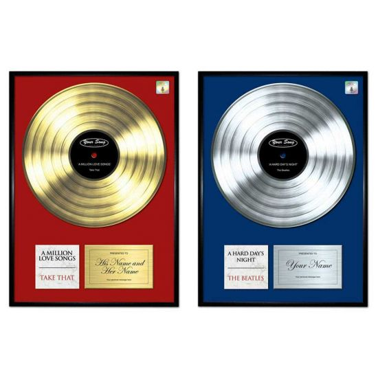 Your Song Poster in Gold or Platinum