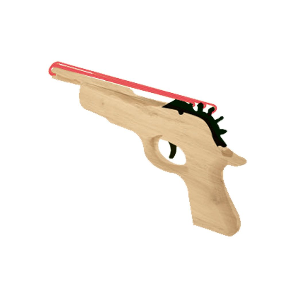 Rubber Band Gun - Made from 100% Sustainable Wood ...