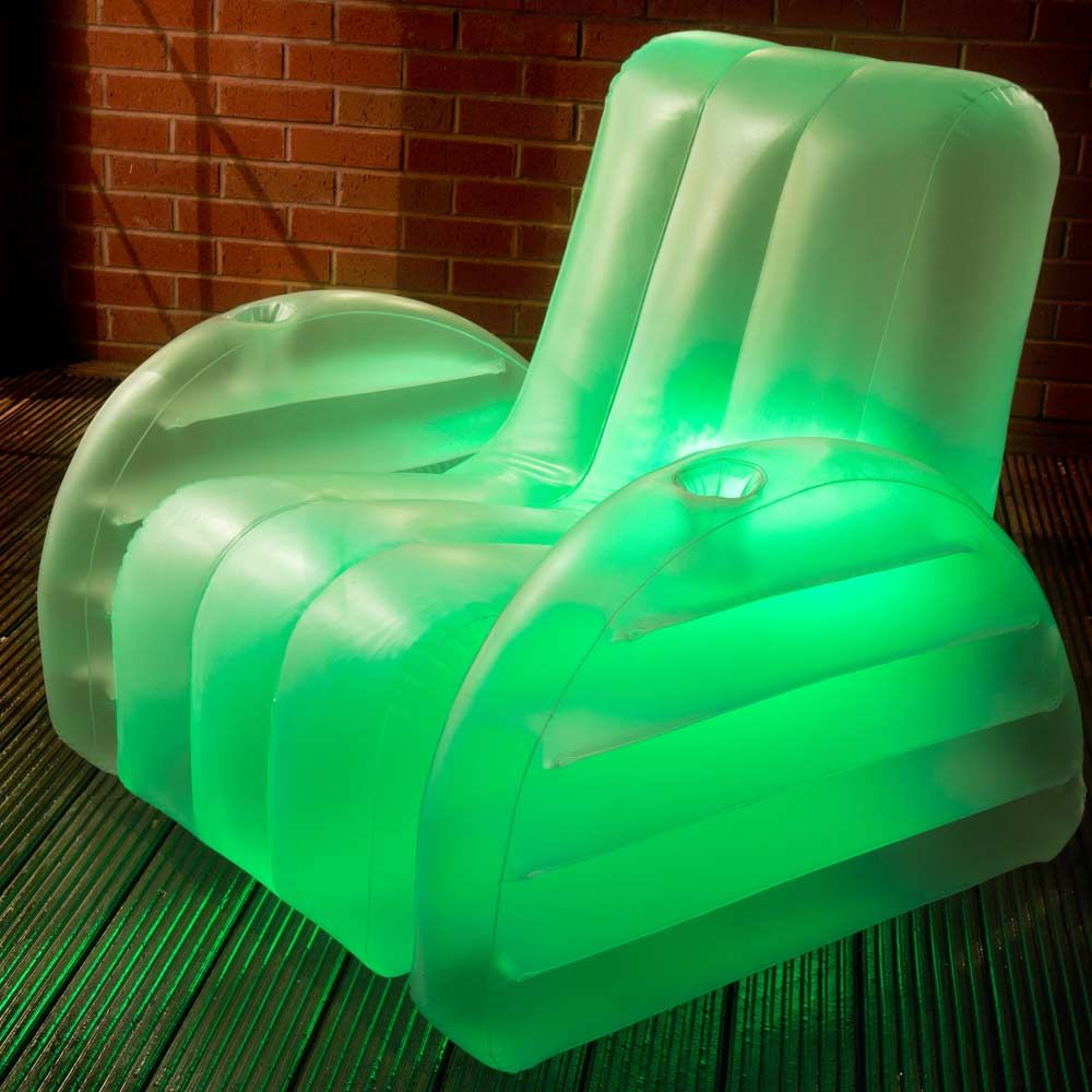Inflatable led chair 1