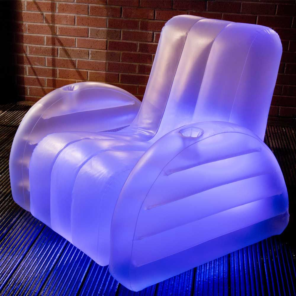 Inflatable led chair 2