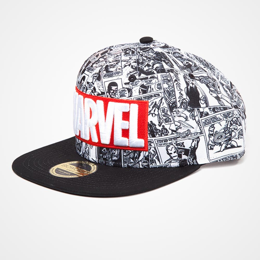 Tap to expand · Marvel Classic Logo Snapback Cap Marvel Classic Logo  Snapback Cap from the side ... ff91b10cb40f