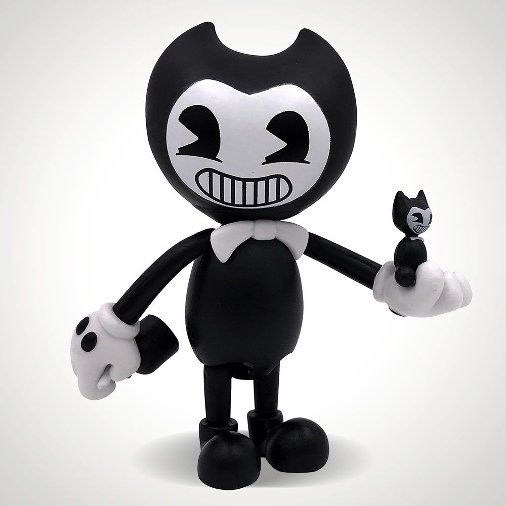 """Bendy And The Ink Machine 5"""" Action Figure - Bendy"""
