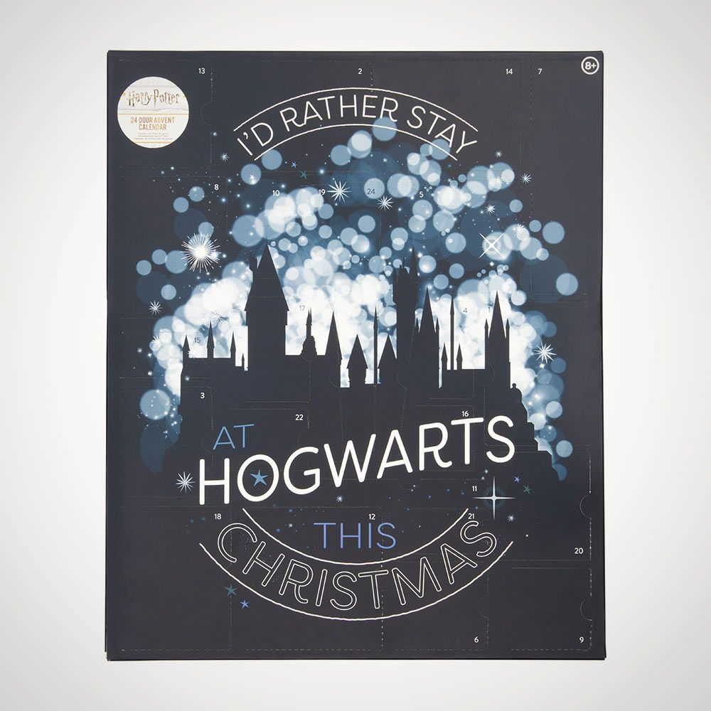 Harry Potter Advent Calendar.Harry Potter Stationery Advent Calendar