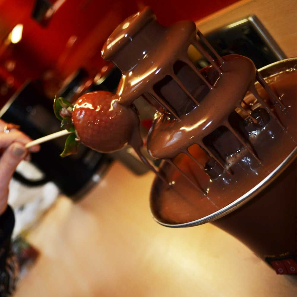 Chocolate Fountain Stylish Tasty Treats For Any Occasion Menkind