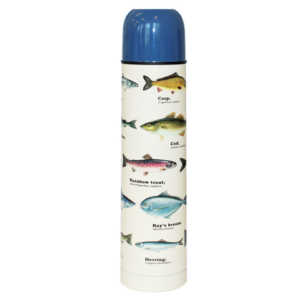 fish thermos flask menkind. Black Bedroom Furniture Sets. Home Design Ideas