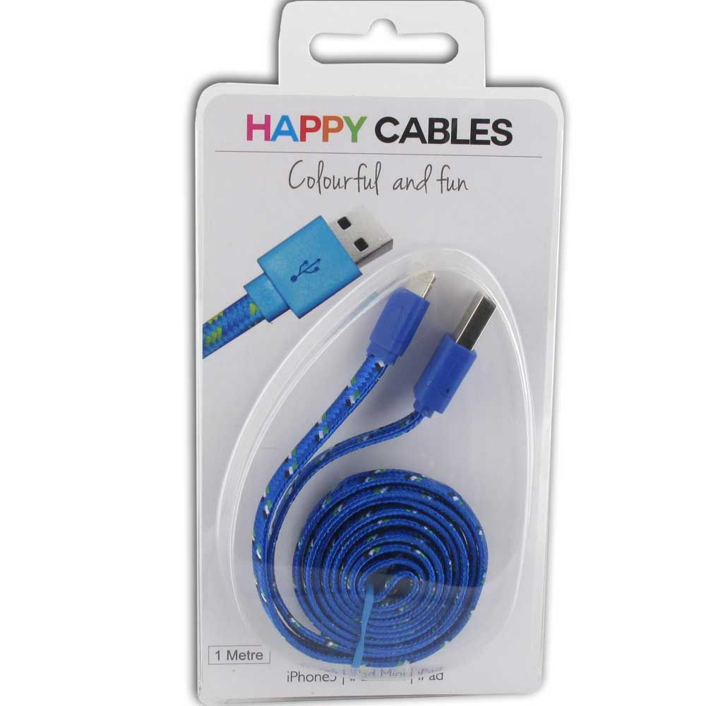 Happy Iphone 5 Usb Glowing Charging Cable Colourful Phone Charger Wiring Colours