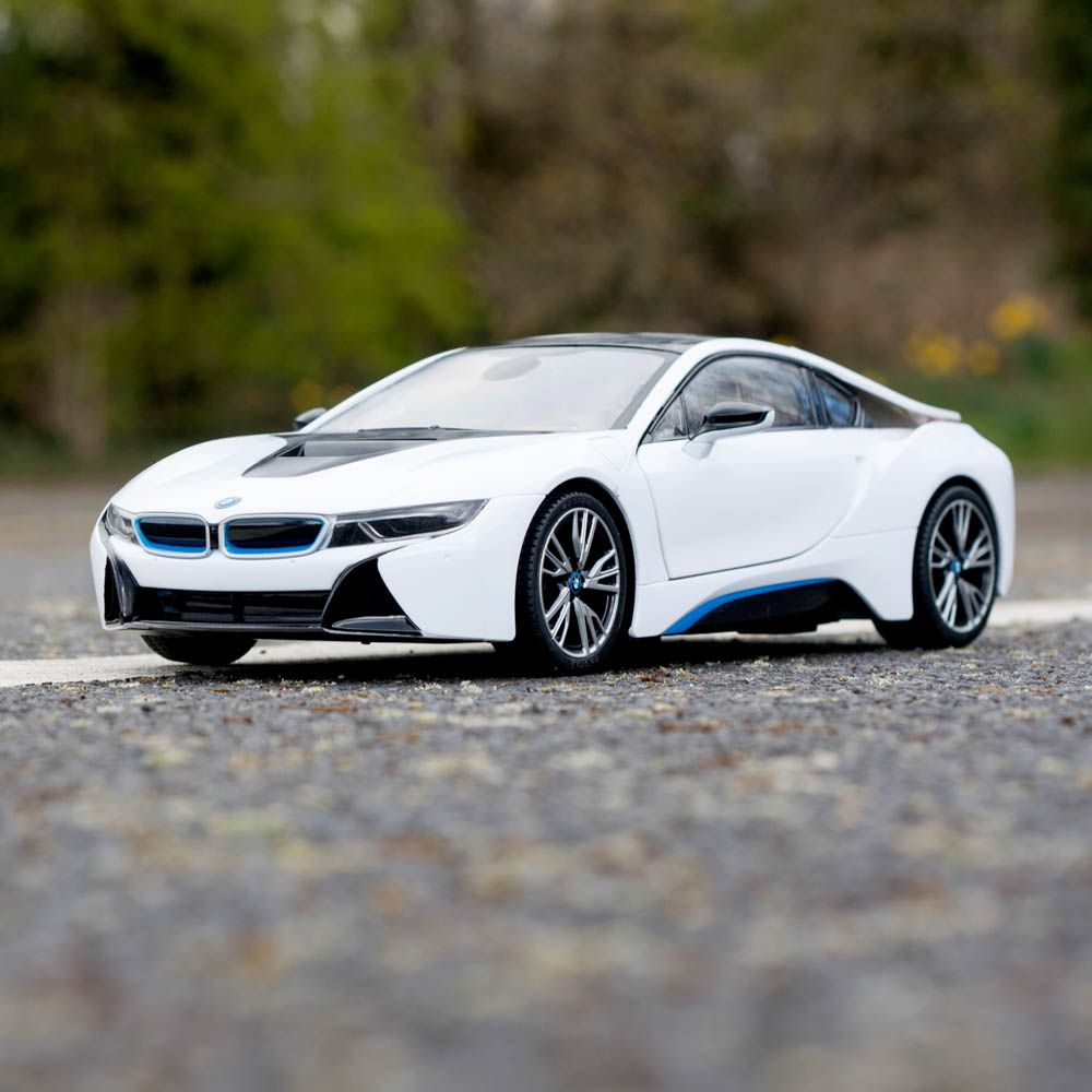 1 14 Bmw I8 Rc Car Authentic Rc Toy White Or Grey Menkind