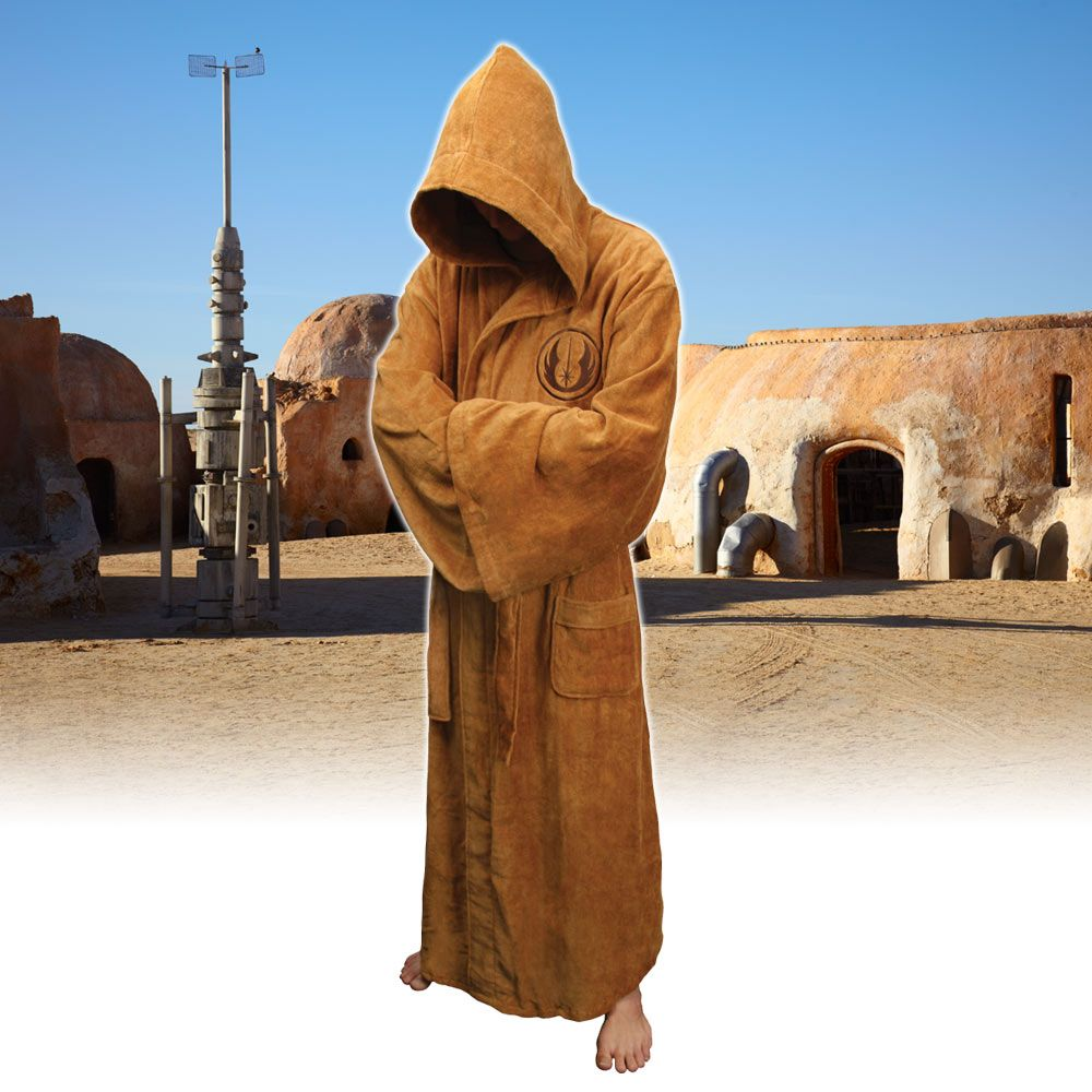 Star Wars Jedi Dressing Gown - Mens Luxury Bathrobes | Menkind