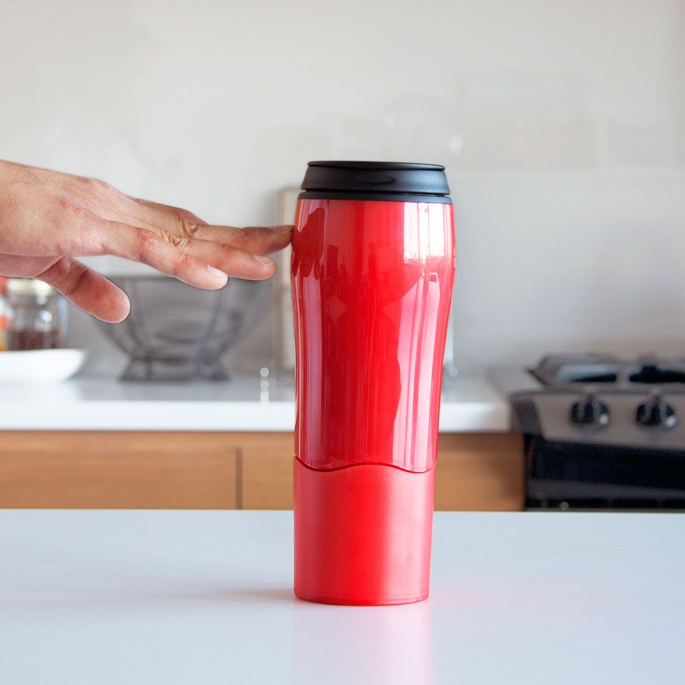 mighty mug red  9  Cup That Keeps Coffee Hot