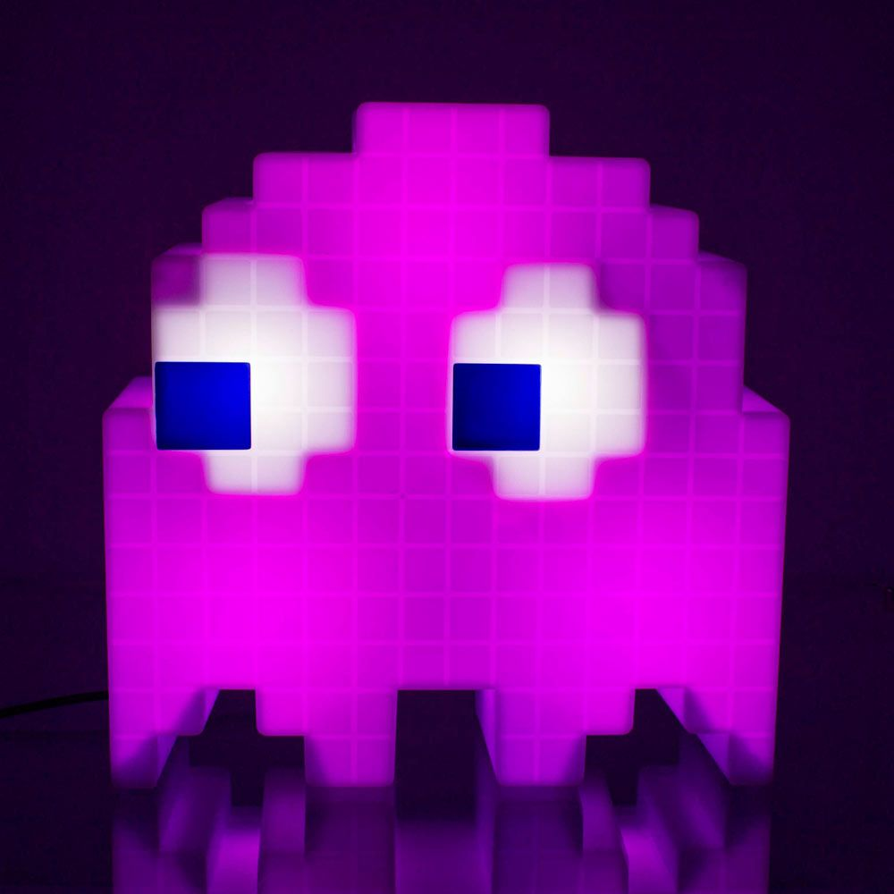 Pac-Man Pixel Ghost Lamp - Cycles Through 16 Colours  0ee92194fd83