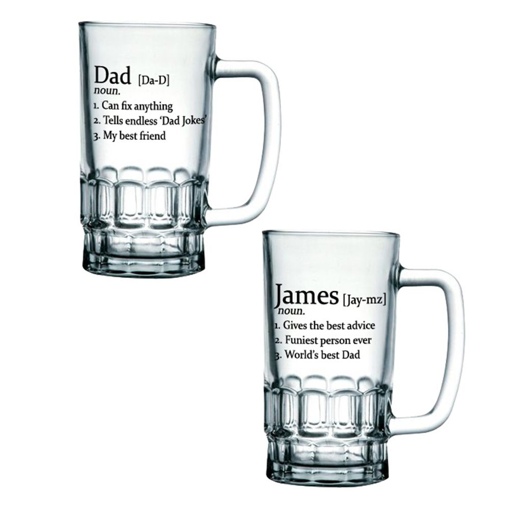 personalised definition beer glass tankard menkind