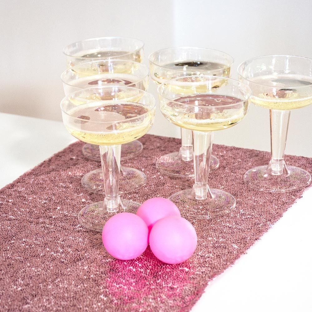 Prosecco Pong- The sophisticated fizzy twist on the classic party ...