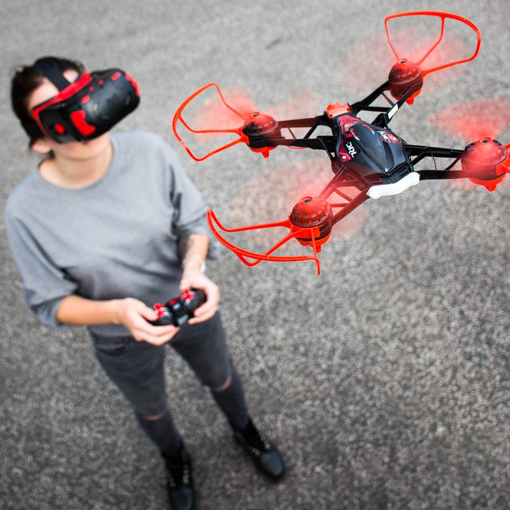 how to fly a vision drone