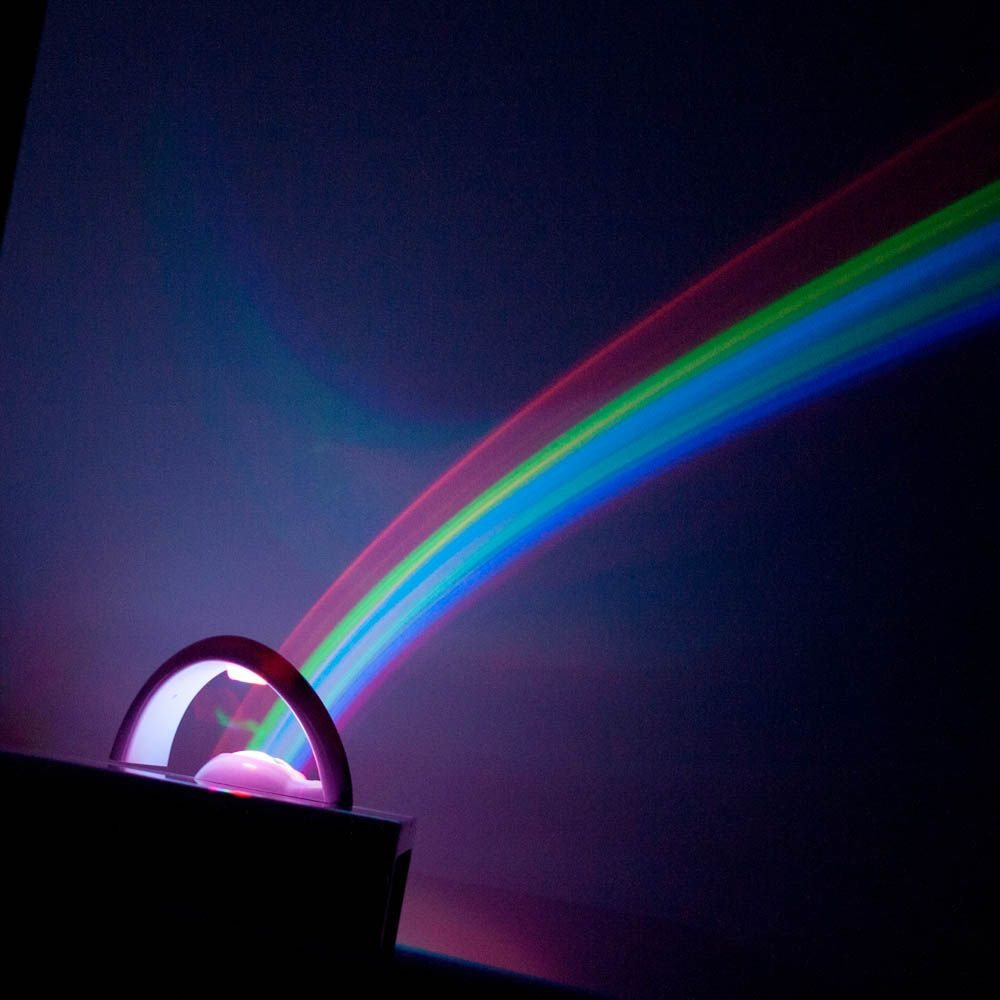 Rainbow Light Rainbow Night Light Projector Menkind