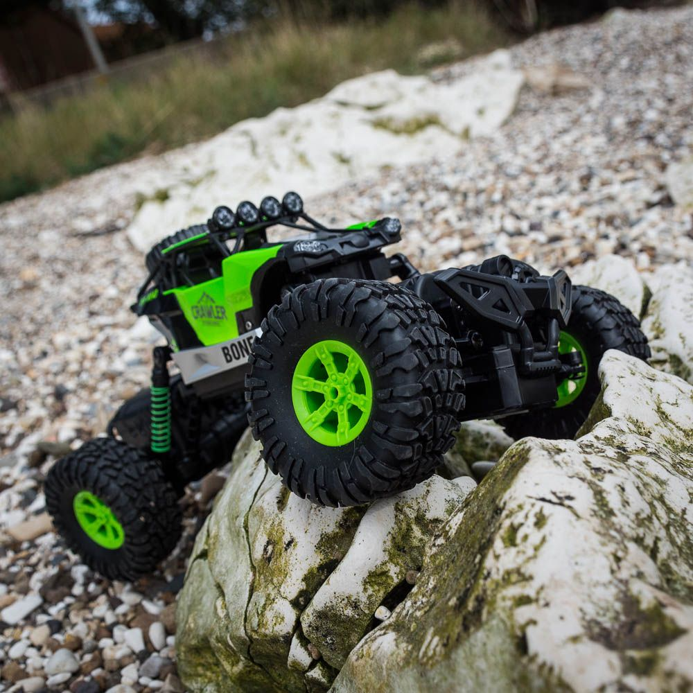 how to build a rc rock crawler