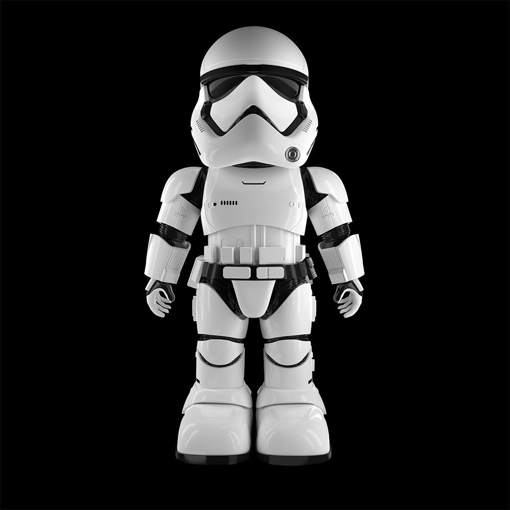 Star wars stormtrooper robot not too short to be a - Robot blanc star wars ...