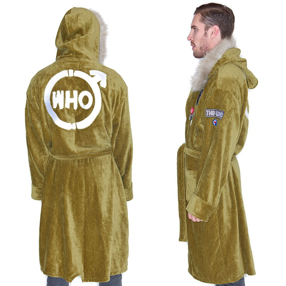 The Who Quadrophenia Parka Bathrobe The Who Quadrophenia Parka Bathrobe ... 05c765d21