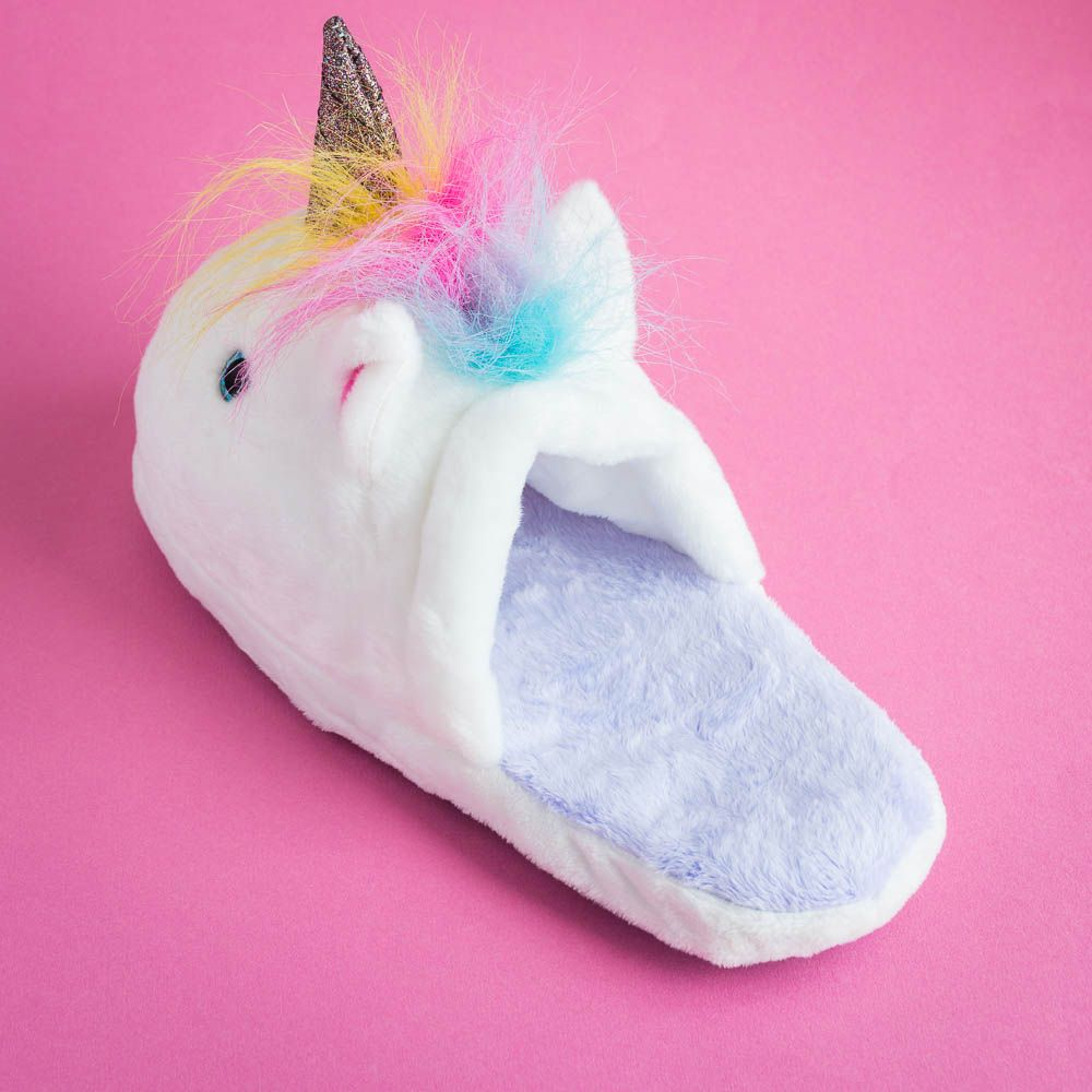 Unicorn Slippers Magical And Cosy Slippers Menkind
