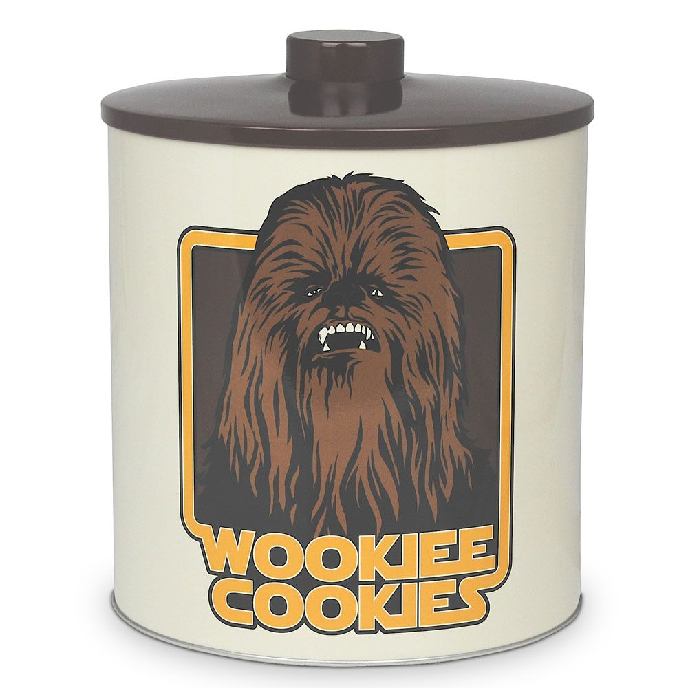 Wookie Biscuit Barrel - Keep Your Cookies In A Star Wars Themed Tin ...