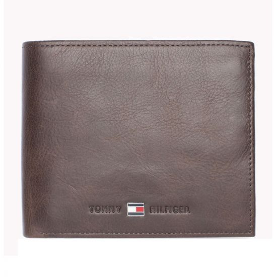 Johnson Credit Card & Coin Wallet in Brown