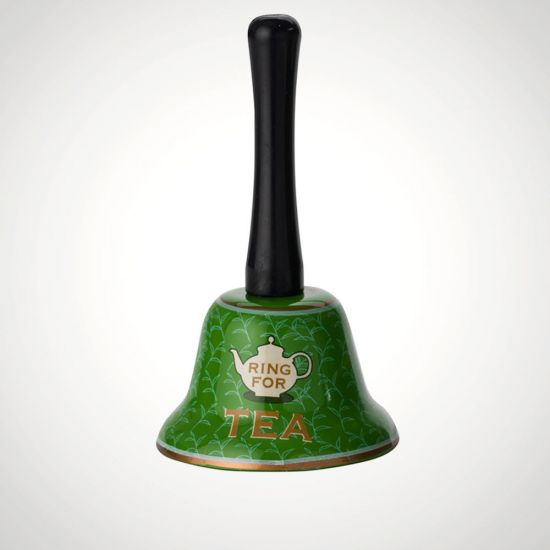 Ring For Tea Bell - Grey Background