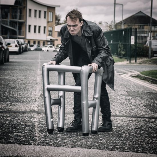 Inflatable Zimmer Frame - Lifestyle