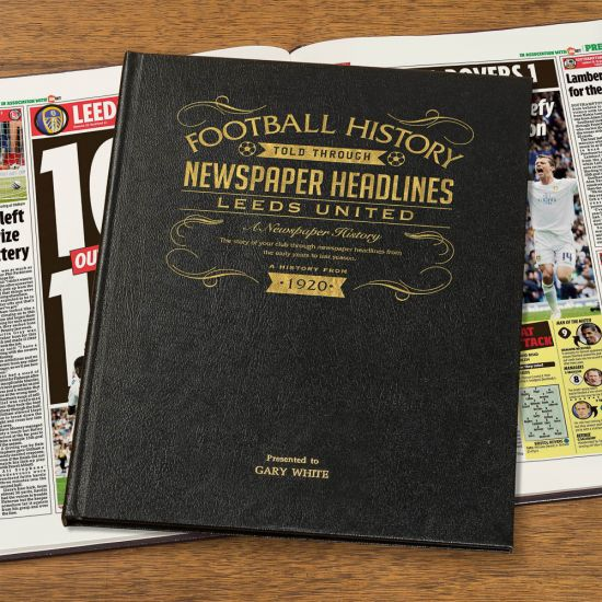 Personalised Championship Football Newspaper A – H